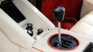 Lamborghini Countach 5000 QV gearbox