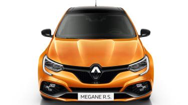 Renault Megane RS - studio full front static