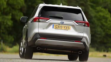 Toyota RAV4 - rear action
