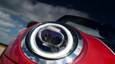 MINI Convertible - front light