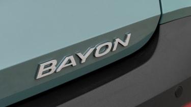 Hyundai Bayon - badge