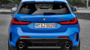 New BMW M135i 2019 1 Series tailgate