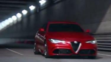 Alfa Romeo Giulia - screen grab front