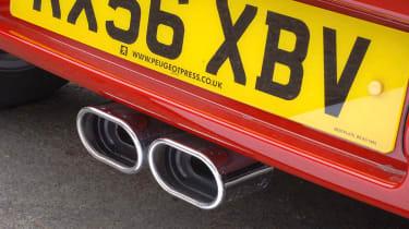 Peugeot 107 Sport XS exhausts