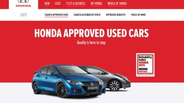 honda approved used