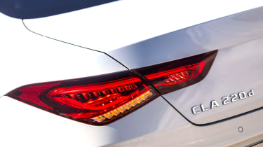 Mercedes CLA - rear lights