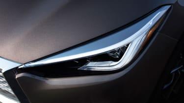 New Infiniti QX50 SUV - headlight