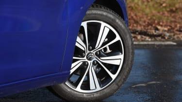 Citroen Grand C4 Picasso - wheel detail