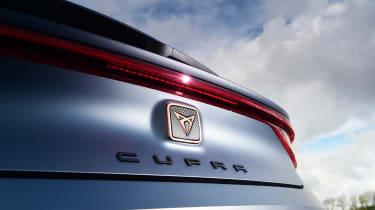 Cupra Leon - badge