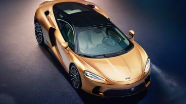 McLaren GT - above