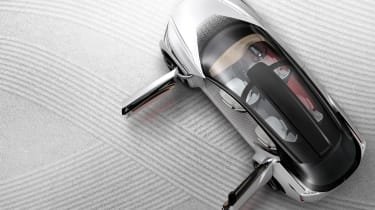Nissan IMx concept - above