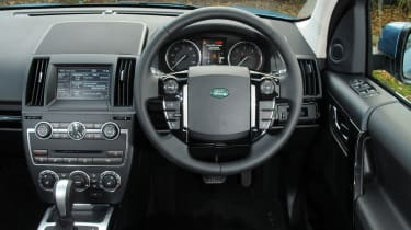 The interior is roomy and well put together but the sat-nav screen looks dated compared to rivals.