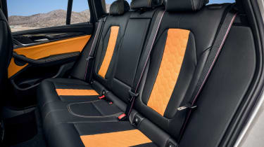 BMW X3 M Competition - rear seats