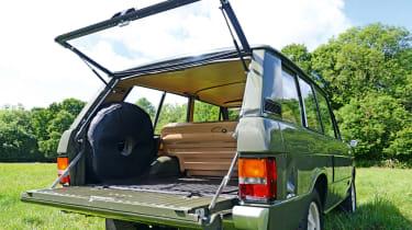 Old Range Rover Velar - rear static
