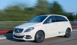 Mercedes B-Class Electric Drive - front