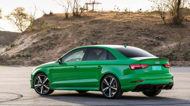 Audi RS3 Saloon 2017 - rear quarter