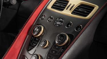 Aston Martin Vanquish Zagato - dashboard