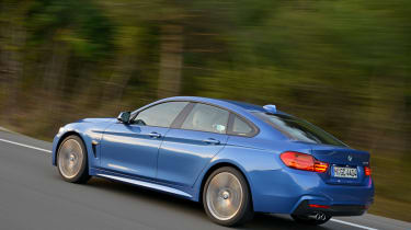 BMW 4 Series Gran Coupe 2014 tracking rear