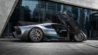 Mercedes-AMG Project ONE - side doors open