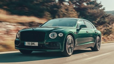 Bentley Flying Spur Verdant - Front Tracking
