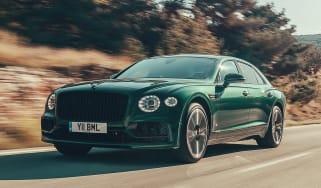 Bentley Flying Spur Verdant - Front Tracking