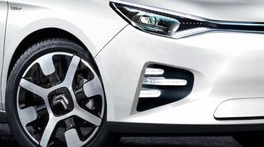 New Citroen C4 exclusive image wheel