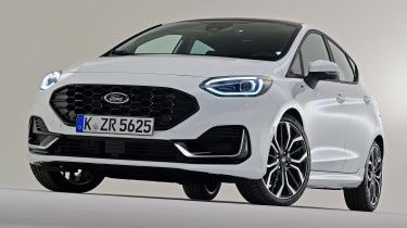 Ford Fiesta facelift - front