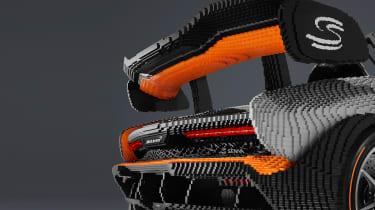 Lego McLaren Senna - rear wing