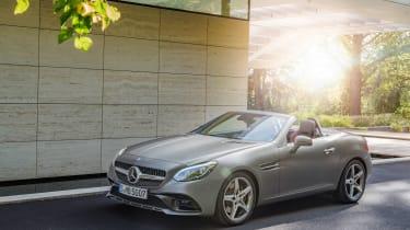 Mercedes SLC roadster