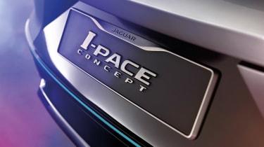 Jaguar I-Pace - studio badge