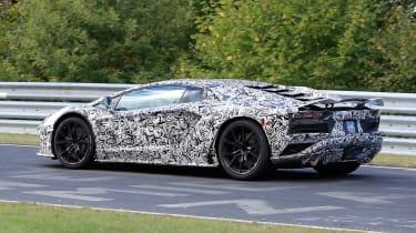 Lamborghini Aventador facelift spied 6