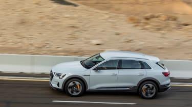 Audi e-tron road