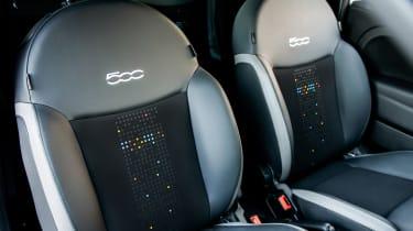 Fiat 500 Google - seats