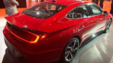 Hyundai Sonata - New York rear