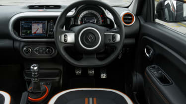 Triple test –Kia Picanto - interior