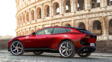 Ferrari Purosangue final rear