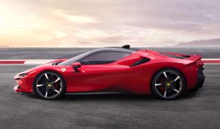 Ferrari SF90 Stradale - side