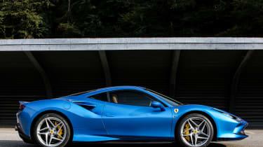 Ferrari F8 Tributo - side static