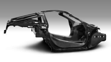 McLaren Super Series replacement - monocoque chassis