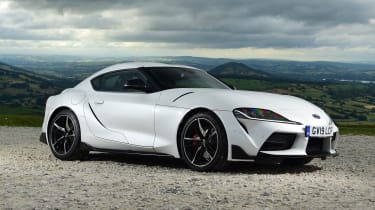 Toyota Supra - front static