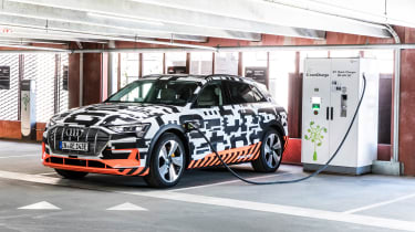Audi e-tron - charging