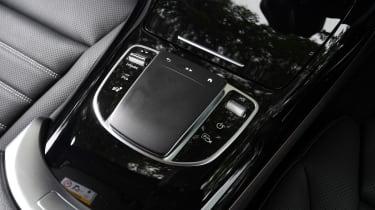 Mercedes EQC - centre console