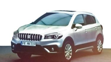 Suzuki S-Cross leaked pics - front