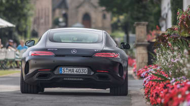 Mercedes-AMG GT C - full rear