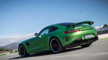 Mercedes-AMG GT R - track rear tracking