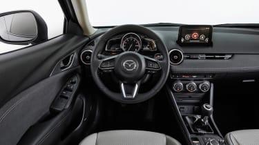 Mazda CX-3 - dash