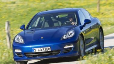 Porsche Panamera S Hybrid front