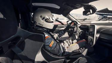 McLaren Senna prototype - driving
