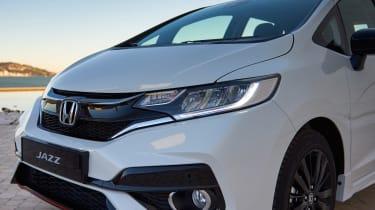 Honda Jazz facelift - front detail