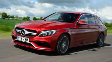 Mercedes-AMG C 63 Estate - front tracking
